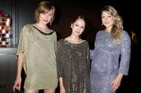 Milla Jovovich, Mika Nakashima and Ali Larter at the after party of the Japan premiere of