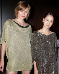 Milla Jovovich and Mika Nakashima at the after party of the Japan premiere of