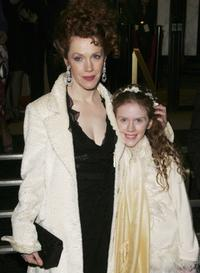 Madeleine Potter and Madeleine Daly at the UK premiere of