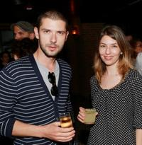 Melvil Poupaud and director Sofia Coppola at the after party of the premiere of