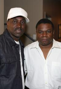 Clifton Powell and director Walter Allen Bennett Jr. at the screening of