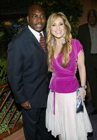 Clifton Powell and Jillian Barberie at the Ebony Magazine Oscar Party