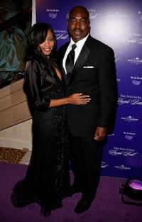 Clifton Powell and Guest at the Inaugural Purple Ball.