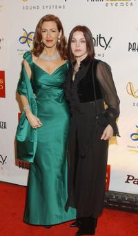 Joely Fisher and Priscilla Presley at the Third Annual Cabaret of Dreams Gala show.