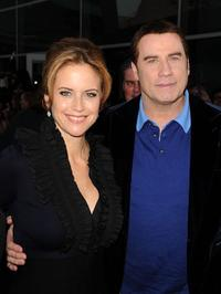 Kelly Preston and John Travolta at the California premiere of