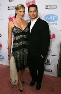 Naomi Lowde-Priestley and Jason Priestley at the