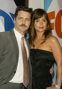 Jason Priestley and Eliza Dushku at the after party for the Fox primetime program announcements for 2004-2005.