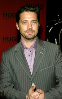 Jason Priestley at the Hugo Boss Fall/Winter 2005 Collection Show.