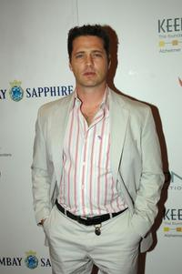 Jason Priestley at the Las Vegas Grand Prix Charity Gala.
