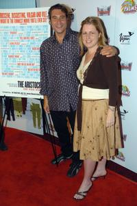 Paul Provenza and Emily Jilette at the screening of