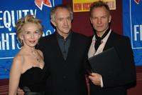 Trudie Styler, Jonathan Pryce and Sting at the Broadway Cares/Equity Fights Aids Benefit.