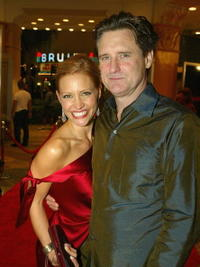 Bill Pullman and KaDee Strickland at the Los Angeles premiere of