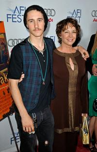 Tyler and Kathleen Quinlan at the 2008 AFI FEST.
