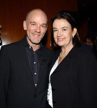 R.E.M. and Judy McGrath at the 28th T.J. Martell Foundation Humanitarian Gala.