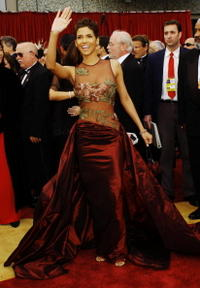 Halle Berry at the 74th Annual Academy Awards.