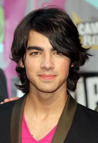 Joe Jonas at the premiere of