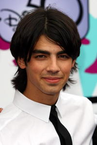 Joe Jonas at the European TV premiere of