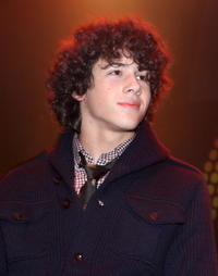 Nick Jonas at the Z100 & In Touch Weekly All Access Lounge Z100 Jingle Ball 2007 pre-event.