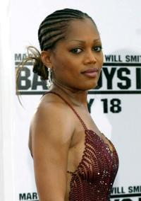 Theresa Randle at the premiere of
