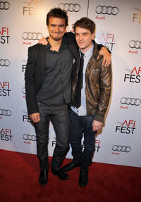 Rob Mayes and Chase Williamson at the California premiere of