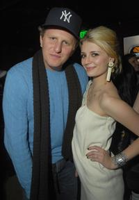Michael Rapaport and Mischa Barton at the party of