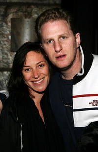 Michael Rappaport and Samara Koffler at the Sundance for Cinetic Media Party.