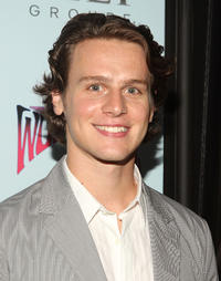 Jonathan Groff at the after party of the New York premiere of