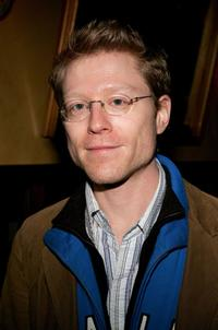 Anthony Rapp at the New York after party for the opening night of