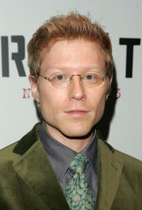 Anthony Rapp at the New York premiere of