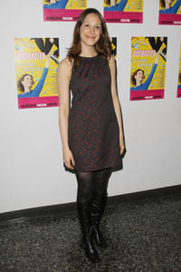 Natalie Gold at the off-Broadway opening night of the