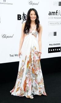 Qi Shu at the amfAR Cinema Against AIDS 2009 benefit during the 62nd Annual Cannes Film Festival.