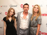 Tamzin Merchant, Jonathan Rhys Meyers and Annabelle Wallis at the official launch party of third season of Showtime's
