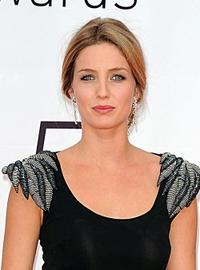 Annabelle Wallis at the photocall of Closing Ceremony of the 2010 Monte Carlo Television Festival.