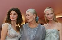 Vanessa Redgrave, Daisy Bevan and Joely Richardson at the screening of the movie