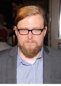 Michael Chernus at the opening night of