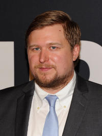 Michael Chernus at the New York premiere of