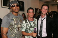 LL Cool J, Lou Reed and Mark Seliger at the Mark Seliger's 401 Projects'
