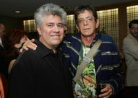 Director Pedro Almodovar and Lou Reed at the 42nd New York Film Festival.
