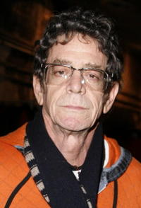 Lou Reed at the performance of Shakespeare's Macbeth staring Patrick Stewart to benefit Brooklyn Academy of Music.