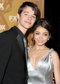 Matt Prokop and Sarah Hyland at the Fox Broadcasting Company, Twentieth Century Fox Television and FX 2010 Emmy Nominee party.