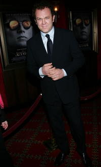 "John C. Reilly at ""The Aviator"" film premiere in New York City."