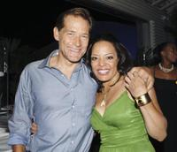James Remar and Lauren Velez at the after party of the premiere of