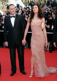 Jean Reno and wife Zofia Borucka at the 59th International Cannes Film Festival, attend