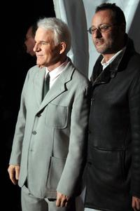 Jean Reno and Steve Martin at the