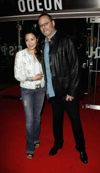 Jean Reno and Michelle Yeoh at the UK Premiere of