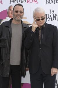 Jean Reno and Steve Martin at the photo call to promote his new film