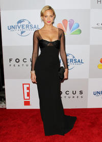 Nora Arnezeder at the NBCUniversal's 69th Annual Golden Globes Viewing and After Party.