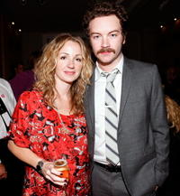 Marissa Ribisi and Danny Masterson at the Whitley Kros Spring 2009 fashion show during the Mercedes Benz Fashion Week.