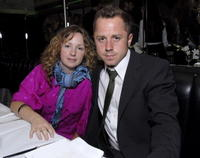 Marissa Ribisi and Giovanni Ribisi at the Smashbox Cosmetics' Kick Off LA Mercedes Benz Fashion Week.