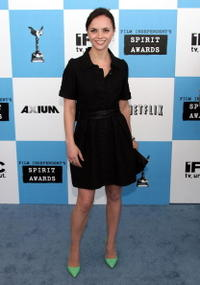 Christina Ricci at the 22nd Annual Film Independent Spirit Awards held at Santa Monica Beach.